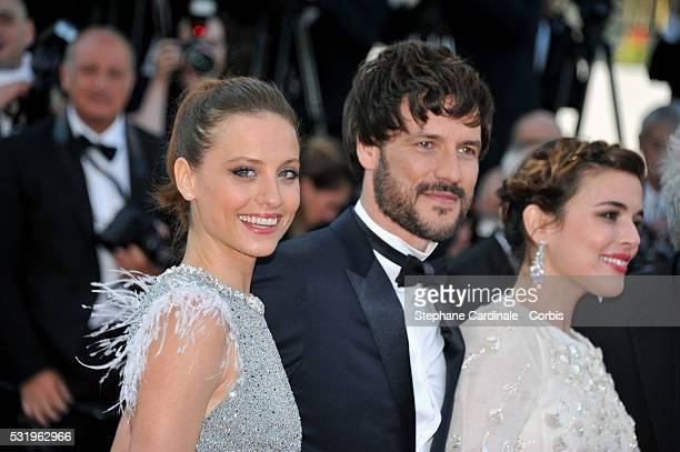 Michelle Jenner Daniel Grao and Emma Suarez attend the screening of 'Julieta' at the annual 69th Cannes Film Festival at Palais des Festivals on May...
