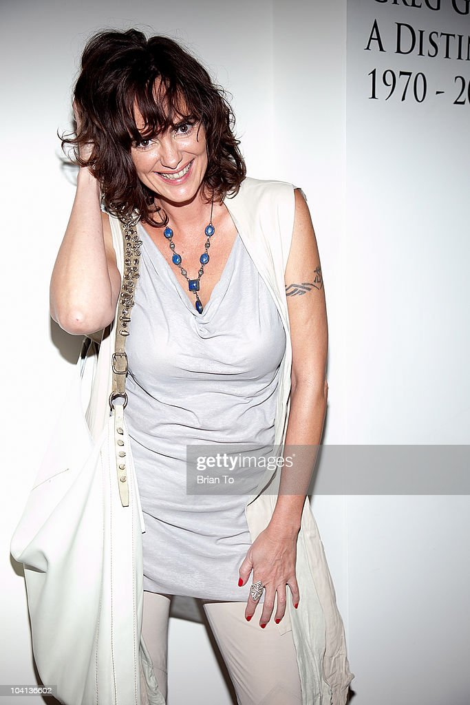 Michelle Johnson attends the opening night reception of 'Greg Gorman: A Distinctive Vision 1970-2010' at Pacific Design Center on September 15, 2010 in West Hollywood, California.