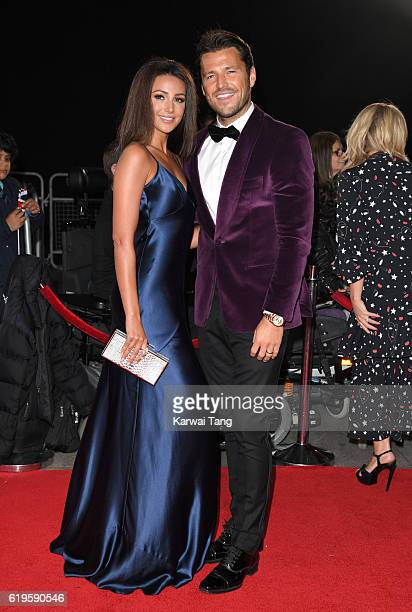Michelle Keegan and Mark Wright attend the Pride Of Britain Awards at The Grosvenor House Hotel on October 31 2016 in London England