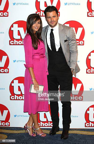 Michelle Keegan and Mark Wright attend the TV Choice Awards 2015 at Hilton Park Lane on September 7 2015 in London England