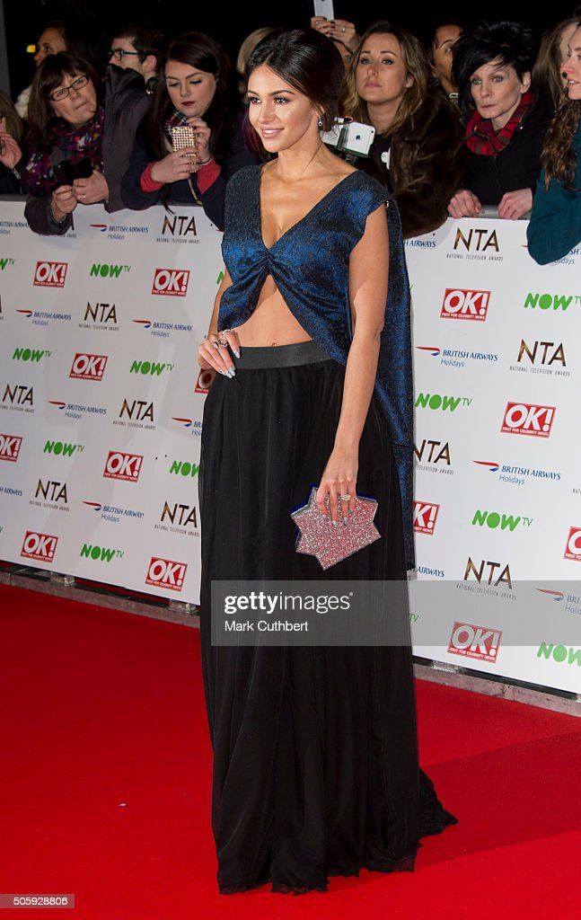 Michelle Keegan attends the 21st National Television Awards at The O2 Arena on January 20, 2016 in London, England.