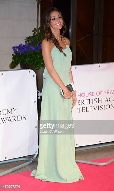 Michelle Keegan attends the After Party dinner for the House of Fraser British Academy Television Awards at The Grosvenor House Hotel on May 10 2015...