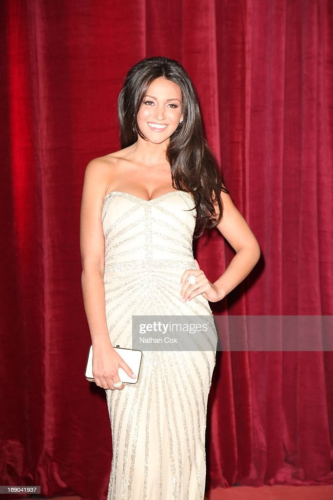 Michelle Keegan attends The British Soap Awards 2013 at Media City on May 18, 2013 in Manchester, England.