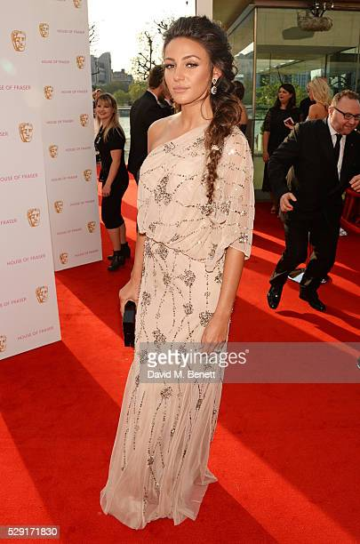 Michelle Keegan attends the House Of Fraser British Academy Television Awards 2016 at the Royal Festival Hall on May 8 2016 in London England