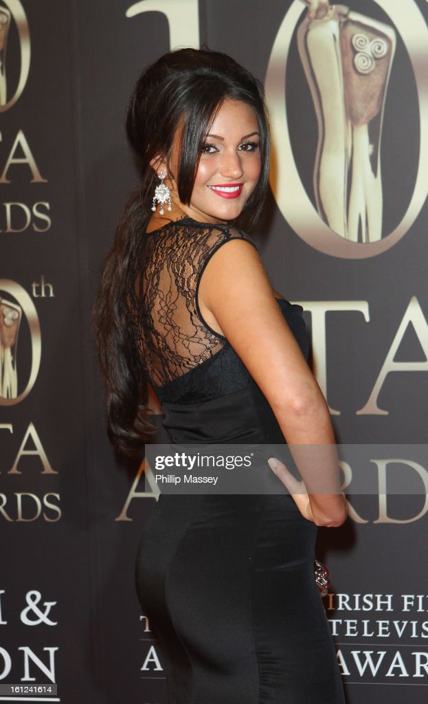 <a gi-track='captionPersonalityLinkClicked' href=/galleries/search?phrase=Michelle+Keegan&family=editorial&specificpeople=4957673 ng-click='$event.stopPropagation()'>Michelle Keegan</a> attends the Irish Film and Television Awards at the Convention Centre Dublin on February 9, 2013 in Dublin, Ireland.
