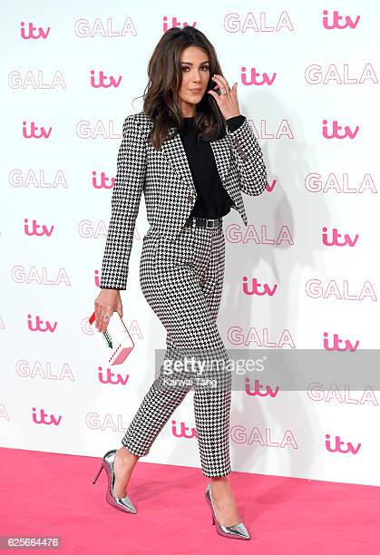 Michelle Keegan attends the ITV Gala at London Palladium on November 24 2016 in London England