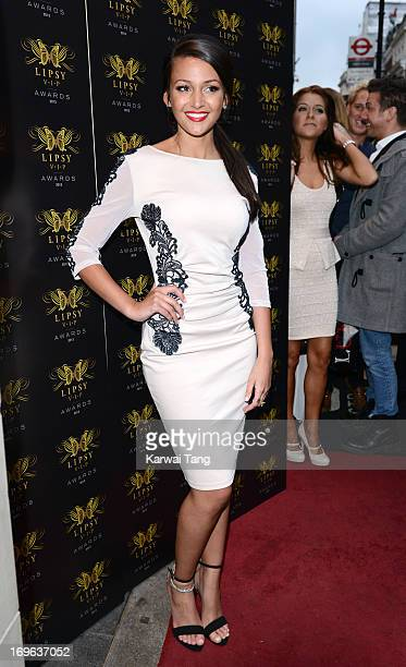Michelle Keegan attends the Lipsy VIP Fashion Awards 2013 at DSTRKT on May 29 2013 in London England
