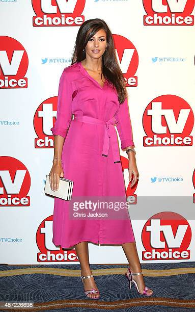 Michelle Keegan attends the TV Choice Awards 2015 at Hilton Park Lane on September 7 2015 in London England