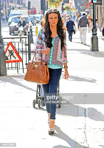 Michelle Keegan is seen on September 06 2012 in London United Kingdom