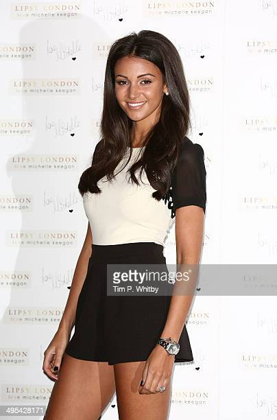Michelle Keegan launches clothing line with Lipsy at ME Hotel on June 3 2014 in London England