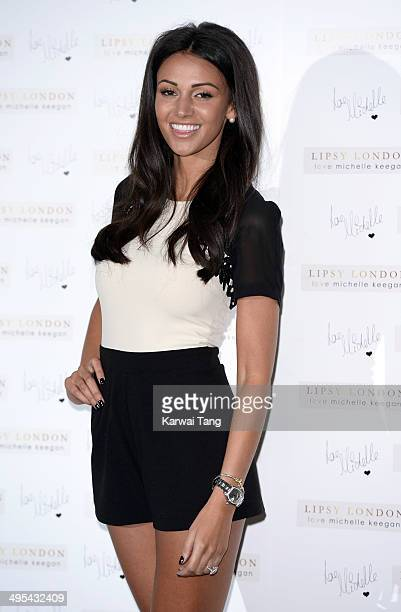 Michelle Keegan launches her clothing line with Lipsy at ME Hotel on June 3 2014 in London England