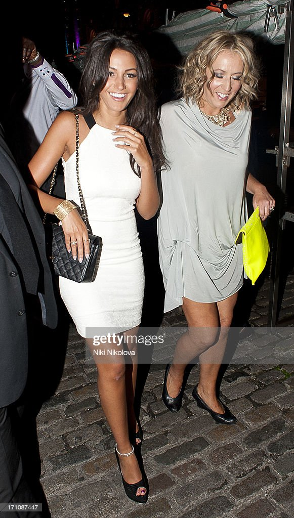<a gi-track='captionPersonalityLinkClicked' href=/galleries/search?phrase=Michelle+Keegan&family=editorial&specificpeople=4957673 ng-click='$event.stopPropagation()'>Michelle Keegan</a> sighting arriving at 26th birthday in a Camden nightclub. on June 21, 2013 in London, England.