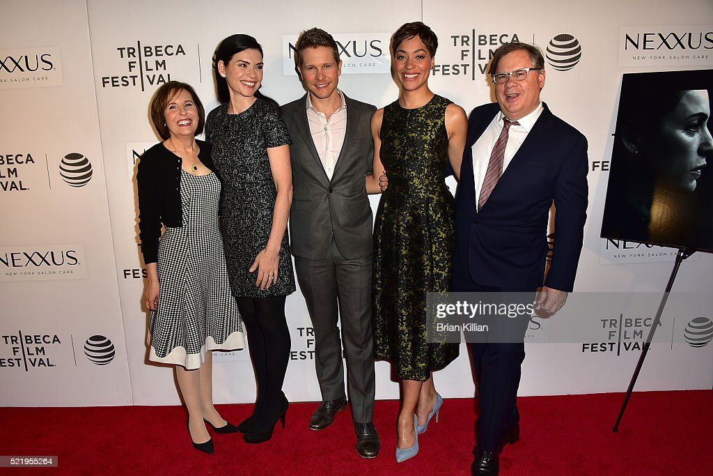 Michelle King Julianna Margulies Matt Czuchry Cush Jumbo and Robert King attend the Tribeca Tune In 'The Good Wife' 2016 Tribeca Film Festival at...