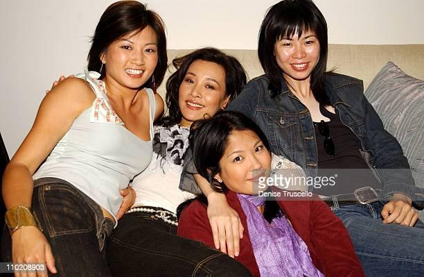 Michelle Krusiec Alice Wu Lynn Chen and Joan Chen