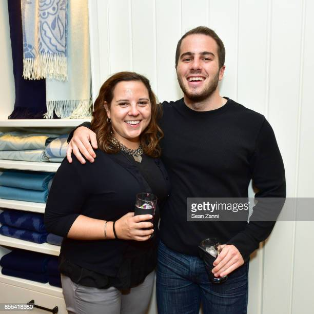 Michelle Langer and Brian Wall attend the Grand Opening Celebration of Williams Sonoma Home NYC with Guest CoHost Heather Clawson of Habitually Chic...