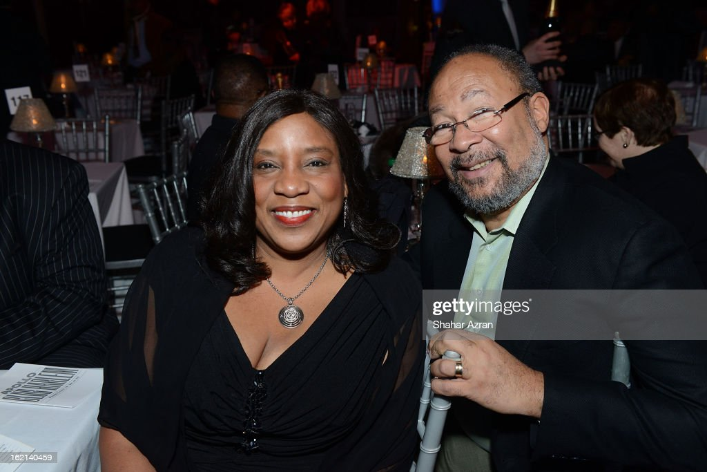 Michelle Lee and <a gi-track='captionPersonalityLinkClicked' href=/galleries/search?phrase=Richard+Parsons&family=editorial&specificpeople=207090 ng-click='$event.stopPropagation()'>Richard Parsons</a> attend Apollo Club Harlem at The Apollo Theater on February 18, 2013 in New York City.