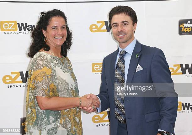 Michelle Levetro arrives at eZWay August Issue Celebration on August 27 2016 in Mission Viejo California