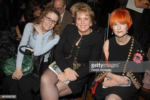 Michelle Levitt Virginia Doty and Brenda Levin attend The 12th Annual ARTWALK NY Honoring Julian Schnabel at Puck Building on November 29 2006 in New...