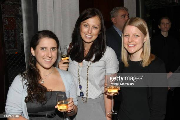 Michelle Liss Jill Cromwell and Kathryn Kmeier attend The Private Unveiling of GRAFF Time Watch Collection 1 at Graff on June 11 2009 in New York City