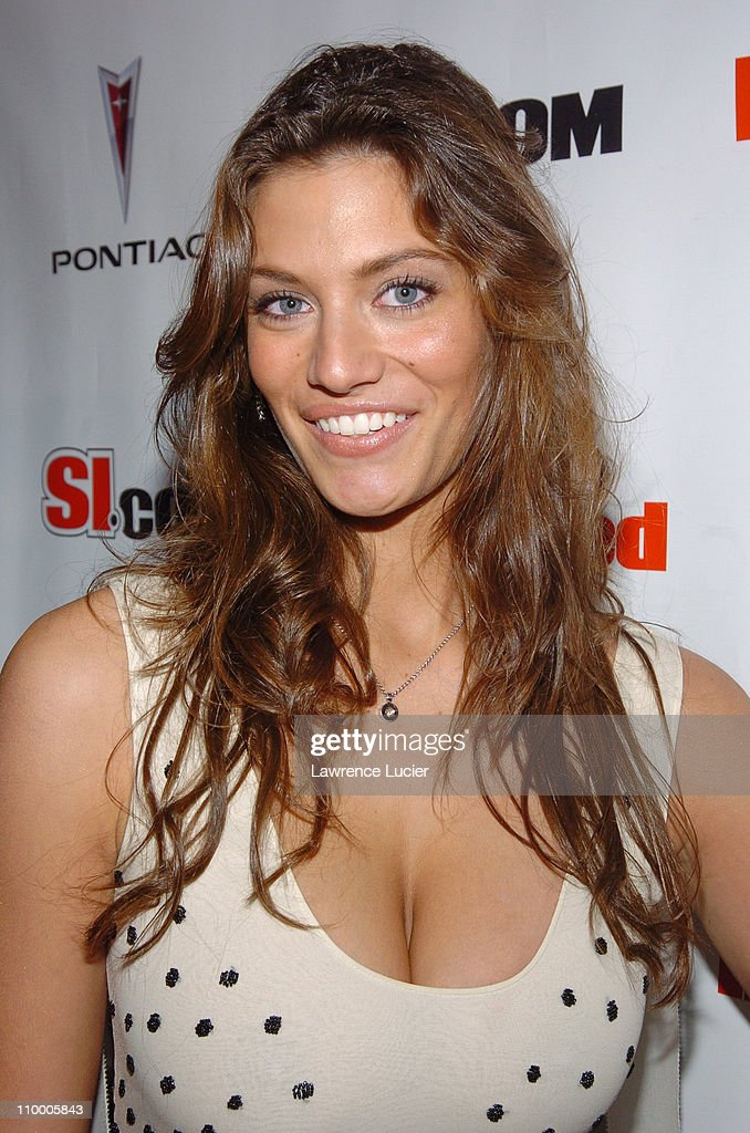 Michelle Lombardo during Sports Illustrated 2005 Swimsuit Issue - Press Conference at AER Lounge in New York City, New York, United States.