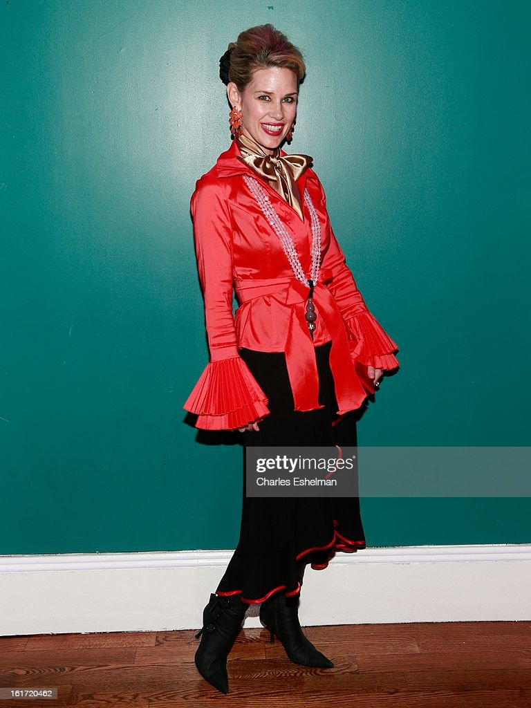 Michelle Marie Heinemann attends the Callula Lillibelle Presentation during Fall 2013 Mercedes-Benz Fashion Week at Hudson Terrace on February 14, 2013 in New York City.