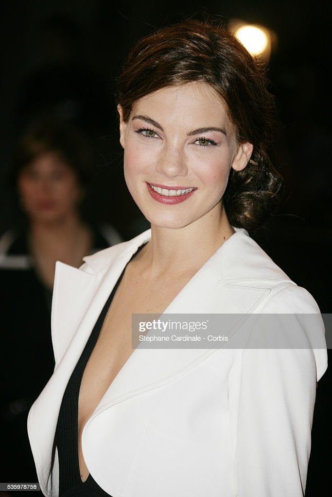 Michelle Monaghan arrives at the premiere of 'Kiss Kiss Bang Bang' during the 31st American Deauville Film Festival.