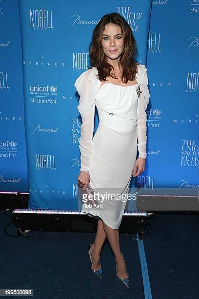 Michelle Monaghan attends 2015 UNICEF Snowflake Ball at Cipriani Wall Street on December 1 2015 in New York City
