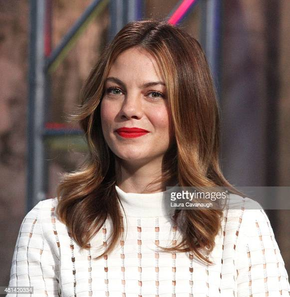 Michelle Monaghan attends AOL BUILD Speaker Series' 'Pixels' at AOL Studios In New York on July 20 2015 in New York City