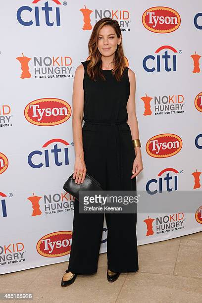 Michelle Monaghan attends No Kid Hungry Breakfast Party on August 25 2015 in Beverly Hills California