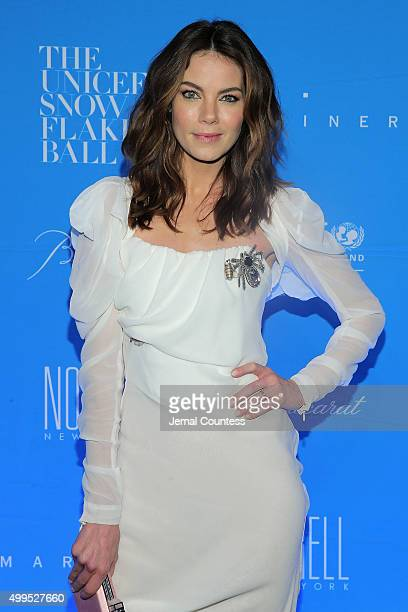 Michelle Monaghan attends the 11th Annual UNICEF Snowflake Ball Honoring Orlando Bloom Mindy Grossman And Edward G Lloyd at Cipriani Wall Street on...