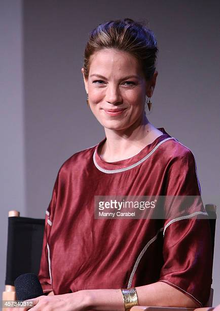 Michelle Monaghan attends the Apple Store Soho Presents The Cast of 'The Best of Me' at Apple Store Soho on October 16 2014 in New York City