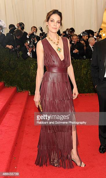 Michelle Monaghan attends the 'Charles James Beyond Fashion' Costume Institute Gala at the Metropolitan Museum of Art on May 5 2014 in New York City
