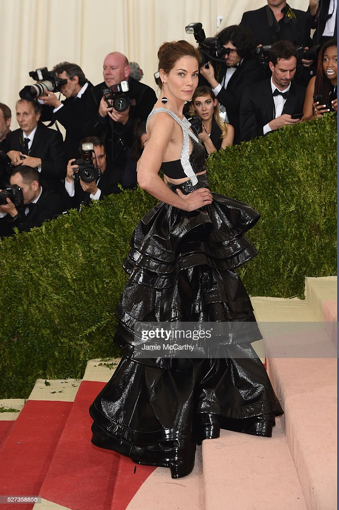 Michelle Monaghan attends the 'Manus x Machina: Fashion In An Age Of Technology' Costume Institute Gala at Metropolitan Museum of Art on May 2, 2016 in New York City.
