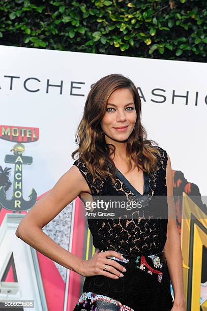 Michelle Monaghan attends the MATCHESFASHIONCOM and Mary Katrantzou Cocktail Party to Celebrate an Exclusive Collection of A to Z Totes on April 20...