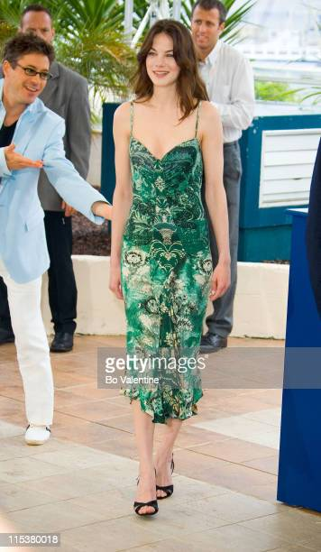 Michelle Monaghan during 2005 Cannes Film Festival 'Kiss Kiss Bang Bang' Photocall at Palais de Festival in Cannes France