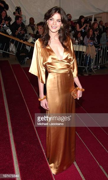 Michelle Monaghan during 'AngloMania' Costume Institute Gala at The Metropolitan Museum of Art Arrivals Celebrating 'AngloMania Tradition and...