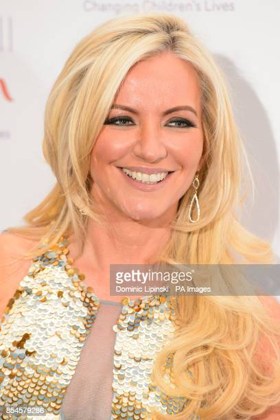 Michelle Mone arriving at the Caudwell Children Butterfly Ball at the Grosvenor House hotel in central London