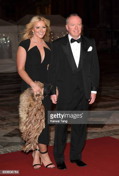 Michelle Mone attends a reception and dinner for supporters of The British Asian Trust on February 2 2017 in London England
