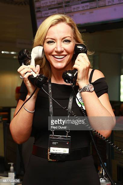 Michelle Mone attends the annual BGC Global Chariry Day at BGC Partners on September 11 2015 in London England