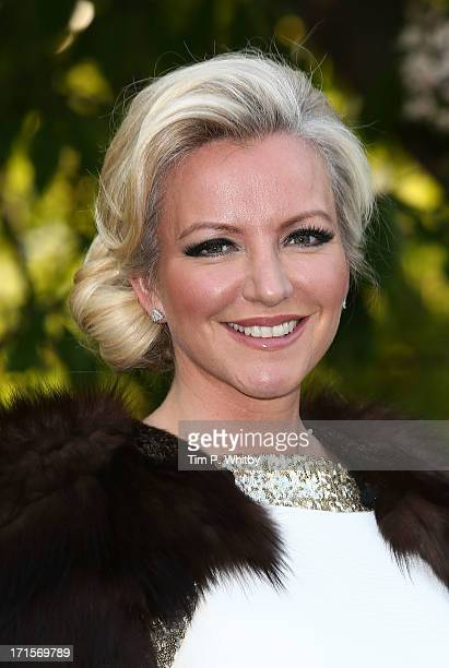 Michelle Mone attends the annual Serpentine Gallery summer party at The Serpentine Gallery on June 26 2013 in London England