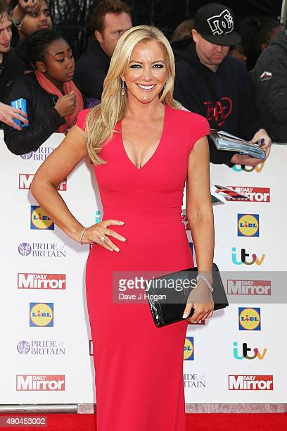 Michelle Mone attends the Pride of Britain awards at The Grosvenor House Hotel on September 28 2015 in London England