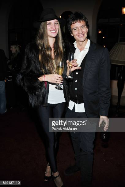 Michelle Ouellett Anthony James attend NICOLAS BERGGRUEN's 2010 Annual Party at the Chateau Marmont on March 3 2010 in West Hollywood California