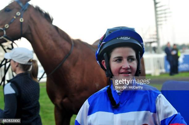 Michelle Payne after winning the Hygain BM78 Handicap at SportsbetBallarat Racecourse on May 14 2017 in Ballarat Australia