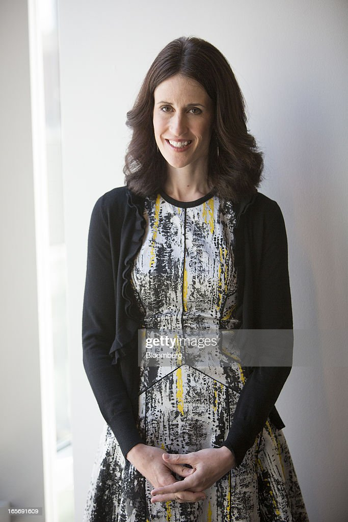 Michelle Peluso, chief executive officer of Gilt Group Inc., stands for a photograph in New York, U.S., on Friday, April 5, 2013. Peluso left her post as Citigroup Inc.'s global consumer chief marketing and Internet officer to run Gilt Groupe Inc., an online shopping site, with an eye toward taking the company public. Photographer: Scott Eells/Bloomberg via Getty Images