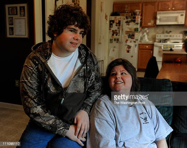 Michelle Perrone and her son John a 15 year old both have type 2 diabetes are shown at their home in Winchester Va on March 13 2011