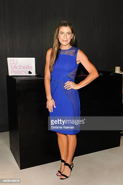 Michelle Pesce attend Vanity Fair And Vera Wang Celebrate The Opening Of Vera Wang On Rodeo Drive on June 18 2014 in Beverly Hills California