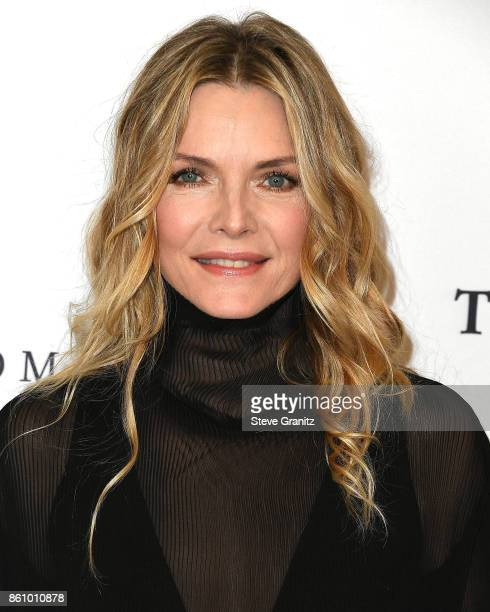Michelle Pfeiffer arrives at the Variety's Power Of Women Los Angeles at the Beverly Wilshire Four Seasons Hotel on October 13 2017 in Beverly Hills...