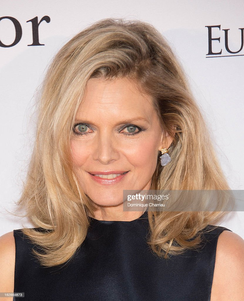 Michelle Pfeiffer attends 'La Cite Du Cinema' Launch on September 21, 2012 in Saint-Denis, France.