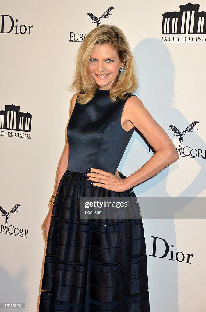 Michelle Pfeiffer attends 'La Cite Du Cinema' Launch - Red Carpet at Saint Denis on September 21, 2012 in Paris, France.