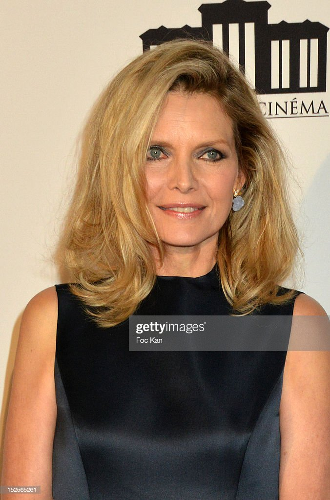 Michelle Pfeiffer attends 'La Cite Du Cinema' Launch - Red Carpet at Saint Denis on September 21, 2012 in Paris, France.